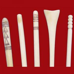 Bone Hair Pin