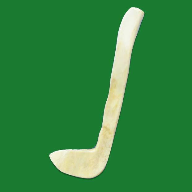 Hooked Bone Knife